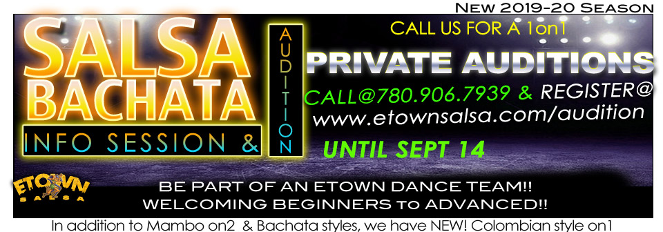 Audition for Dance Teams