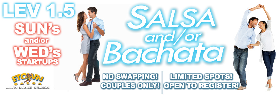 Salsa or Bachata lessons